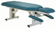 "The Apex's modern design and seamless upholstery make it a true chiropractic ""Doctor's Choice."