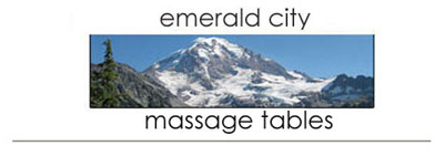 Emerald City Massage Tables sells high quality portable electric hydraulic lift spa salon resort massage tables loungers and massage accessories. Order online or call us today!