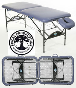 Pisces Productions New Wave Lite Lightest Weight Massage Table
