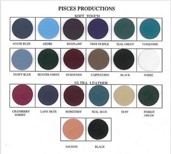 Pisces Productions 2015 Vinyl Swatches