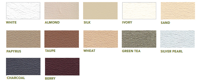 Living Earth Crafts Ultraleather Vinyl Swatches