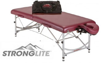 Stronglite Versalite Pro Lightweight Massage Reiki Table Package